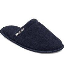 homy w slippers tofflor blå björn borg