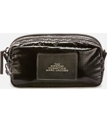 marc jacobs women's double zip pouch - black