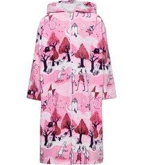 comet bathrobe ochtendjas badjas roze mumin