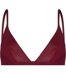isabel marant triangle-cup bikini top - red