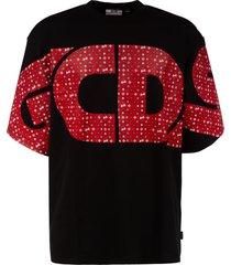 gcds oversize logo t-shirt