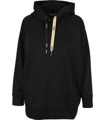 fendi black lurex sweatshirt