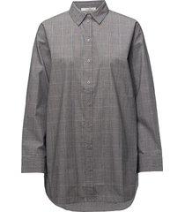 wray check shirt ze1 18 overhemd met lange mouwen grijs gestuz