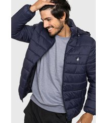 campera azul welligton polo club