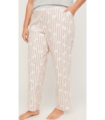 a cat's meow cotton capri pant