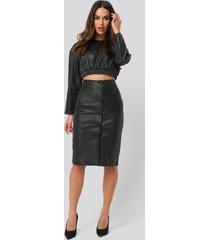 mango silvia skirt - black