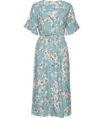 adore dress knälång klänning blå odd molly