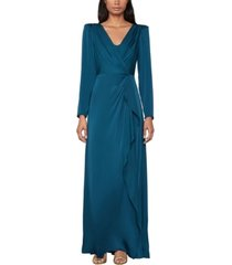 bcbgmaxazria wrap-effect dress