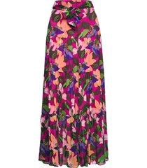 dvf lillian lång kjol rosa diane von furstenberg