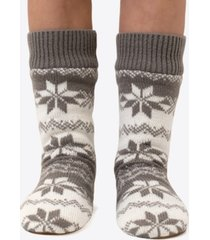 dkny fairisle slipper socks