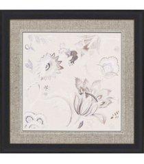 """paragon capri floral i framed wall art, 37"""" x 37"""""""