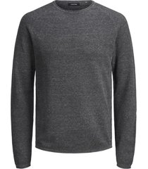 jack & jones pullover - modern fit - grijs