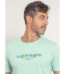 camiseta aleatory estampada loyal - masculina - masculino
