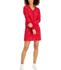 charter club sleepshirt & socks 2pc set, created for macy's