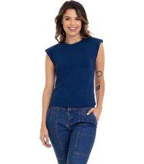 camiseta manola muscle feminina - feminino
