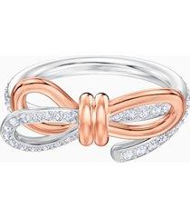 anello lifelong bow, media, bianco, mix di placcature