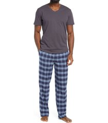 men's nordstrom pajamas, size medium - grey