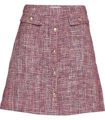 skirt elise kort kjol rosa lindex