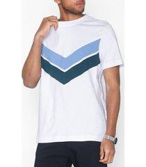 samsøe samsøe aldu o-n ss 10831 t-shirts & linnen white