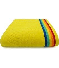 toalha de praia beach - appel - rainbow - amarelo, - tricae