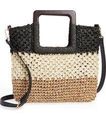 nordstrom small straw crossbody bag -