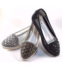 chic by lady couture sky embellished dress comfort loafers choose sz/color
