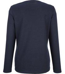 sweatshirt dress in marinblå