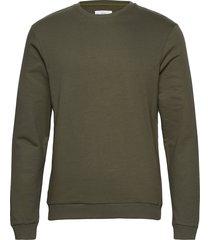 sweatshirt sweat-shirt tröja grön bread & boxers