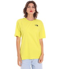 t-shirt korte mouw the north face nf0a4cesje31