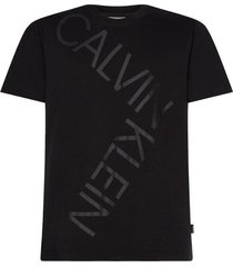 t-shirt bold logo relax zwart