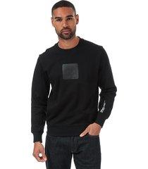 mens panel logo sweatshirt