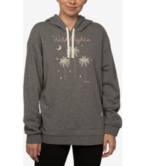 hurley juniors' wild nights pullover hoodie