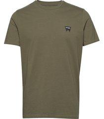 ss sign off tee t-shirts short-sleeved grön wrangler