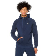 hoodie azul under armour rival fleece fz