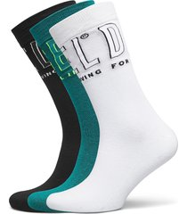 skm-hermine-threepack socks underwear socks regular socks multi/mönstrad diesel men