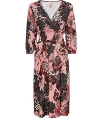 abito midi a fiori (rosa) - bodyflirt boutique
