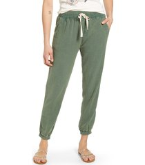 women's rip curl classic surf pants, size large - green