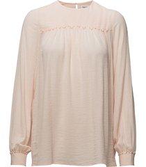 crinkle blouse blouse lange mouwen crème filippa k