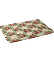 deny designs holli zollinger cross hatch color bath mat bedding