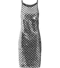 abito con paillettes (nero) - bodyflirt