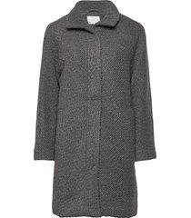 nubrio jacket ulljacka jacka grå nümph
