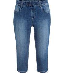 jeggings capri (blu) - john baner jeanswear
