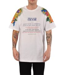 couture t-shirt stampa floreale