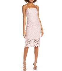 women's bardot lina lace cocktail dress