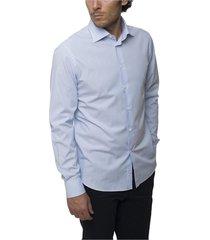 micro striped shirt