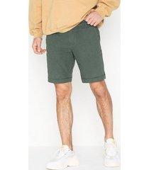 selected homme slhstraight-paris linen shorts w shorts grön