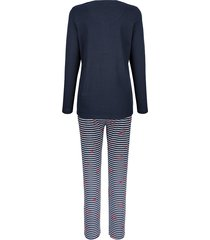 pyjamas blue moon marinblå/vit/röd