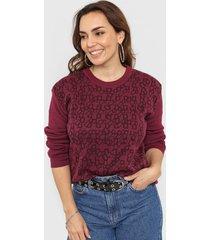 sweater violeta minari geo