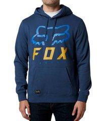 poleron lifestyle canguro heritage forger azul fox
