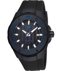 reloj negro technomarine tm-215089 - superbrands